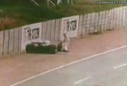 Guy Gets Hit By Formula 1 Race Car, Body Becomes Like Gumby
