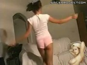 Hot Teen Jordan Capri Strip Tease Lap Dance