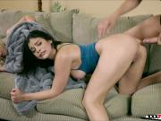Violet Starr Sharing the the cock of stepbrother