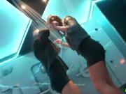 Amateur Euro Teens Shower Dancing