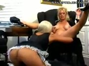 Lit Cigarette Inserted Into Pussy - Lesbian Smoke-O-Rama