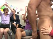 Mesmerizing cock pleasuring