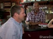 Cockstarving MILF tries big black cock and makes husband see