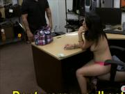 Amateur babe pawns her pussy and screwed by pawn guy
