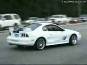 New Mustang Show Off Fail