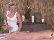 Dude passionately fucks masseuse