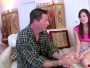 Stepdad And His Naughty Lessons Gets Her Out Of A Bind