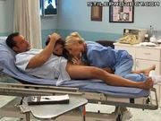 super hot blonde and asian fuck a lucky patient