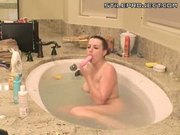 Lexi Belle at home on webcam - jacuzzi masturbation