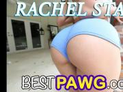 Nose Deep in Rachel Starrr Round Ass Giving Rimjob