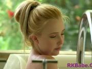 dreamy little blonde pussy