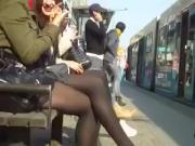 European Girls Wearing Pantyhose