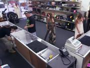 Hot But Crazy Bitch Brings A Gun To The Pawnshop