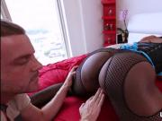 Bubble booty black milf with giant boobs anal fuck
