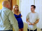 My uncles busty girlfriend Briana Banks wants my dick