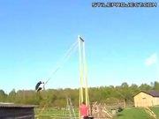 massive swing, all the way around!