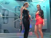 Kinky Euro College Wet Dancing Party
