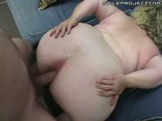 pig fatty BBW blonde gets an anal treatment