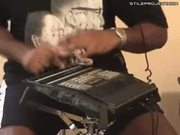 Amazing! David Fingers Haynes plays the drum machine!
