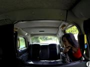Babe with big tits pounded by nasty driver in the taxi
