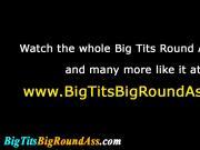Busty big ass slut spitroasted