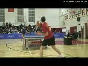 Excessive Ping Pong Celebration
