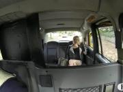 Tight amateur babe banged in the backseat by fake driver
