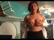 Real mature mistreating a cock POV