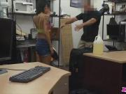 Horny sweet asian chick getting a fat hard cock