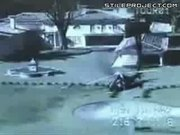 Helicopter Crashes In Backyard & Guy Comes Out Alive