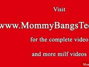 Milf mom licked by teen getting anal