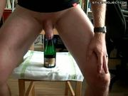 Champagne Bottle In My Ass