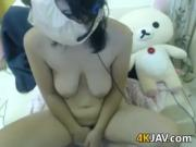Japanese Cutie Playing With Her Pussy