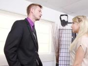 Gorgeous Blonde Valerie White Fucked Hard by Her Horny Boss