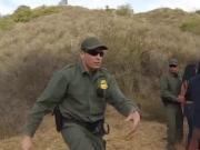 Alejandra Leon Fucks A Guard At The Border