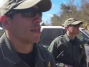 Hot Latina At The Border Does A No No And Deepthroats Me To Get Out Of It