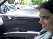 Big melons teen Zelda banged in the car