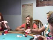 A Poker Game Where Anything Goes With College Boys And Girls