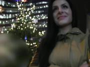 Czech babe gets tits cumhot in public pov