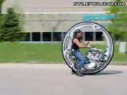 One-Wheeled Motorcycle