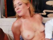 Gorgeous Raylin Ann fucked by a group of old men