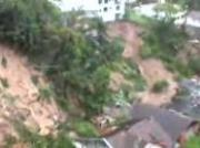 Mudslide Takes Out 2 Houses