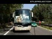 Charter Bus Banging