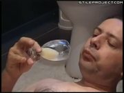 Guy Eats 7 Loads Of His Cum, Then Jerks Off