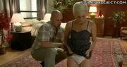 Short haired blonde girl humiliation