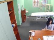 Doctor fucks bent over sexy patient