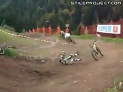 Bike finishes race without rider