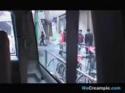 Asian Slut Fucked In A Van