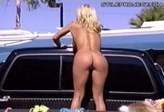 Best Car Wash Ever - Big Titty Naked Chicks Washing Your Car