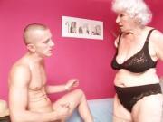 Cock-Crazed Granny Loves Fresh Dick